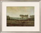 Afternoon Framed Giclee Print by Caspar David Friedrich