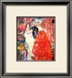 Girl Friends Framed Giclee Print by Gustav Klimt