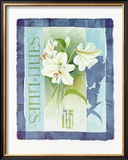 Lilies Poster by Franz Heigl