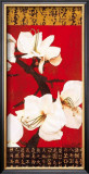 Asian Amaryllis II Prints by Gabriel Scott