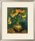 Fritillaires dans un Vase de Cuivre, c.1886 Posters by Vincent van Gogh