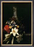 Bouquet de Fleur Devant un Vase de Chine, 1661 Prints by  Josepha