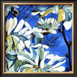 White Flowers IV Prints by Mary Mclorn Valle