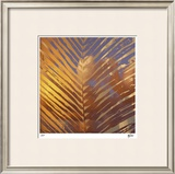 Sunset Palms I Limited Edition Framed Print by M.J. Lew