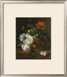 Basket of Flowers Poster by Jan van Huysum