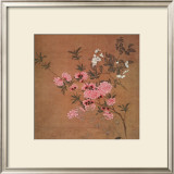 Cherry Blossoms and Wild Roses Posters by Yun Shou-P'ing