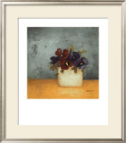 Pansies II Prints by Anouska Vaskebova