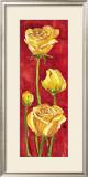 Rose in Rosso Prints by Giuseppina Tartagni