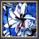 White Flower II Poster by Mary Mclorn Valle