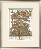 Twelve Months of Fruits, 1732, June Posters by Robert Furber