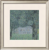 Upperaustrian Farmhouse Prints by Gustav Klimt