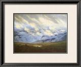 Scudding Clouds Framed Giclee Print by Caspar David Friedrich