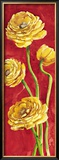 Ranuncoli in Rosso Art by Giuseppina Tartagni