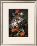 Bouquet de Fleurs, Vers 1730 Prints by Jan van Huysum