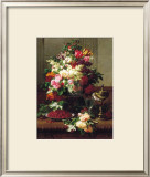 Summer Buffet II Prints by Jean Baptiste Claude Robie