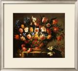 Corbeille a Fleurs Print by Juan de Arellano