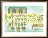Flower Shop, Always on Your Side Framed Giclee Print by Miyuki Hasekura