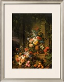 Le Tombeau de Julie, 1803-1804 Prints by Jan Frans van Dael