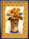 Primrose II Print by Alie Kruse-Kolk