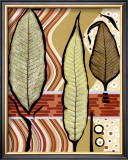 Go Go Leaves III Art by Kris Taylor