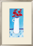 Red Poppies Prints by Marguerite Post