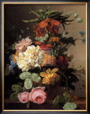 Floral Still Life I Prints by Arnoldus Bloemers