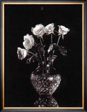 Dramatic Roses Poster by Dick &amp; Diane Stefanich