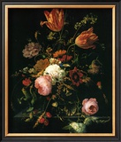 Flower in a Crystal Vase Posters by Abraham Mignon
