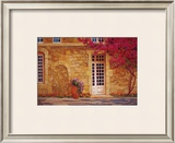 The Bougainvillea Covered House Prints by Liliane Fournier