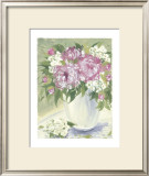 Peony II Posters by Patricia Roberts