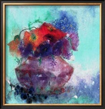 Fruhlingsblumen I Prints by J. P. Pernath