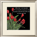 Night Time Tulips Prints by Anne Courtland