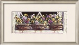 Window Pansies Poster by Mark Lee Goldberg