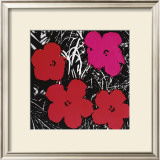 Flowers, c.1964 (Red and Pink) Prints by Andy Warhol
