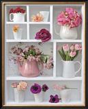 Pink Rank Prints by Louis Gaillard