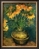 Fritillaires dans un Vase de Cuivre, c.1886 Poster by Vincent van Gogh