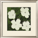 Flowers, c.1964 (White) Print by Andy Warhol