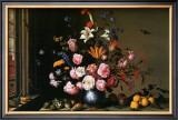 Vase de Fleurs a Cote d'Une Fenetre Posters by Balthasar van der Ast