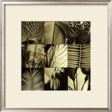 Tropical Leaves I Print by Caroline Kelly