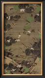 Jungle Law Framed Giclee Print by Jyakuchu Ito