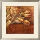 Copper Tulips II Posters by Linda Thompson
