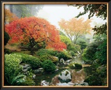 Japanese Garden I Prints by Maureen Love