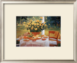 The Breakfast Prints by Liliane Fournier