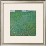 Poppy Field, 1907 Prints by Gustav Klimt