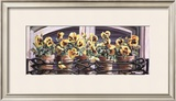 Yellow Pansies Prints by Mark Lee Goldberg