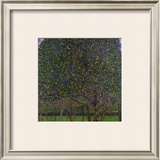 Pear Tree Framed Giclee Print by Gustav Klimt