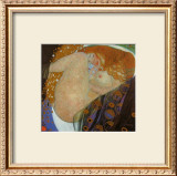 Danae, c.1907 Art by Gustav Klimt
