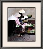 Vietnamese Market Prints by Anne Du Planty