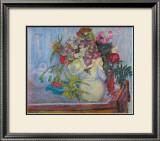 Mauve Bouquet Art by Pierre Bonnard