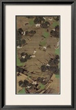 Jungle Law Framed Giclee Print by Jyakuchu Ito